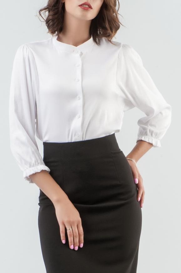 Блуза белого цвета|интернет-магазин vvlen.com