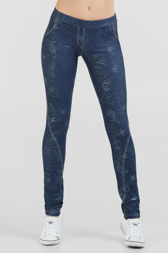 Женские лосины джинса цвета 789-1.34|интернет-магазин vvlen.com