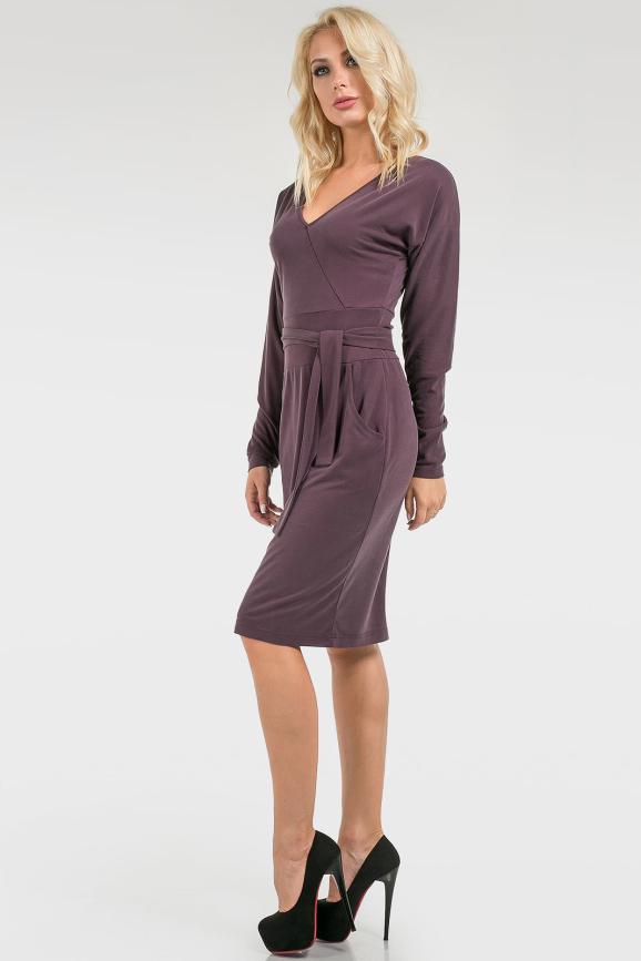 Женственное деловое платье|интернет-магазин vvlen.com