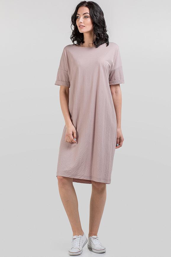 Летнее спортивное платье пудры цвета 2684.101 интернет-магазин vvlen.com