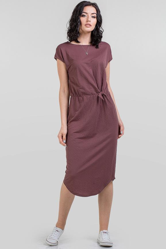 Летнее платье футляр капучино цвета 2683.101 интернет-магазин vvlen.com