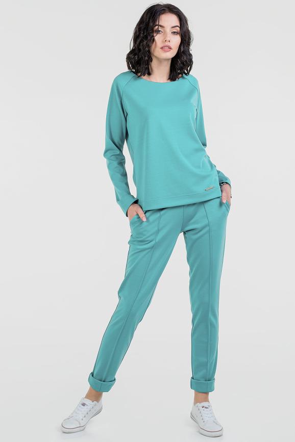 Домашний костюм морской волны цвета 2671.47|интернет-магазин vvlen.com
