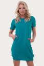 Спортивное платье  морской волны цвета 6001|интернет-магазин vvlen.com