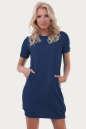 Спортивное платье  джинса цвета 6001|интернет-магазин vvlen.com