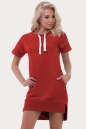 Спортивное платье  оранжевого цвета No0|интернет-магазин vvlen.com