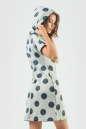 Спортивное платье  синего цвета 6007-1 No3|интернет-магазин vvlen.com