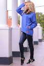 Худи оверсайз голубого цвета  2405-1.79 No1|интернет-магазин vvlen.com