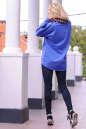 Худи оверсайз голубого цвета  2405-1.79 No2|интернет-магазин vvlen.com