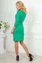 Офисное платье футляр зеленого цвета No3 интернет-магазин vvlen.com