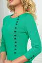 Офисное платье футляр зеленого цвета No4 интернет-магазин vvlen.com