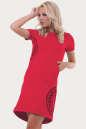Спортивное платье  малинового цвета 6005-1 No3|интернет-магазин vvlen.com
