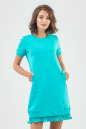 Спортивное платье  мятного цвета 6001-2|интернет-магазин vvlen.com
