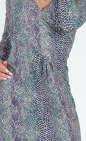Повседневное платье футляр зеленого тона цвета 876.17 No1 интернет-магазин vvlen.com