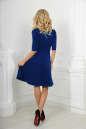 Повседневное платье с расклешённой юбкой электрика цвета No3|интернет-магазин vvlen.com