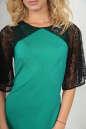 Коктейльное платье футляр зеленого цвета No3|интернет-магазин vvlen.com