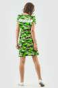 Спортивное платье  салатового цвета 6003-1 No1|интернет-магазин vvlen.com