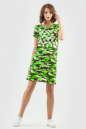 Спортивное платье  салатового цвета 6003-1 No3|интернет-магазин vvlen.com