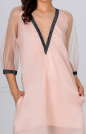 Клубное платье трапеция золотистого цвета kl  194 No3|интернет-магазин vvlen.com