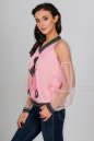 Блуза пудры цвета kl  1802 No3|интернет-магазин vvlen.com