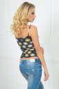 Майка женская желтого тона цвета 336.17 No2 интернет-магазин vvlen.com