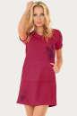 Спортивное платье  малинового цвета 2250.67|интернет-магазин vvlen.com