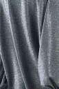 Коктейльное платье балахон серебристо-зеленого цвета 2632.98 No3|интернет-магазин vvlen.com