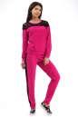 Домашний костюм малинового цвета 2307.79|интернет-магазин vvlen.com