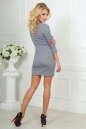 Повседневное платье футляр серого цвета 2218-1.92 No6|интернет-магазин vvlen.com