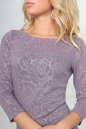 Повседневное платье футляр серо-фиолетового цвета No4|интернет-магазин vvlen.com