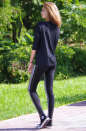 Женские лосины черного цвета 2204.45 No0|интернет-магазин vvlen.com