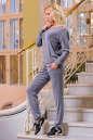 Домашний костюм серого цвета 2238.65 No1|интернет-магазин vvlen.com