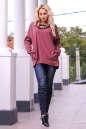 Худи оверсайз бордового цвета  2405-1.79|интернет-магазин vvlen.com