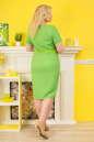 Платье футляр зеленого цвета  No4|интернет-магазин vvlen.com