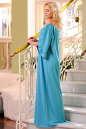 Платье оверсайз бирюзового цвета No2|интернет-магазин vvlen.com