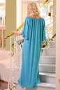 Платье оверсайз бирюзового цвета No3|интернет-магазин vvlen.com