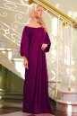 Платье оверсайз бордового цвета 2423.86 No1 интернет-магазин vvlen.com