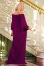 Платье оверсайз бордового цвета 2423.86 No2 интернет-магазин vvlen.com