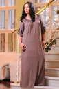 Платье оверсайз капучино цвета No5|интернет-магазин vvlen.com