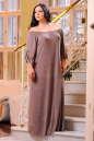 Платье оверсайз капучино цвета No6|интернет-магазин vvlen.com