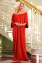 Платье оверсайз красного цвета 2423.86 No1|интернет-магазин vvlen.com