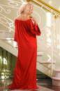 Платье оверсайз красного цвета 2423.86 No2|интернет-магазин vvlen.com