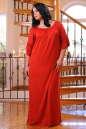 Платье оверсайз красного цвета 2423.86 No3|интернет-магазин vvlen.com