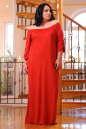 Платье оверсайз красного цвета 2423.86 No4|интернет-магазин vvlen.com