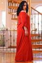 Платье оверсайз красного цвета 2423.86 No5|интернет-магазин vvlen.com