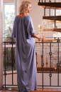Платье оверсайз серо-голубого цвета 2423.86 No4|интернет-магазин vvlen.com