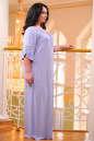Платье оверсайз серо-голубого цвета 2423.86 No7|интернет-магазин vvlen.com