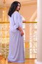 Платье оверсайз серо-голубого цвета 2423.86 No9|интернет-магазин vvlen.com