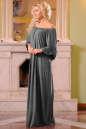 Платье оверсайз серого цвета No1|интернет-магазин vvlen.com