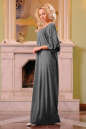 Платье оверсайз серого цвета No2|интернет-магазин vvlen.com