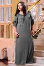 Платье оверсайз серого цвета No5|интернет-магазин vvlen.com